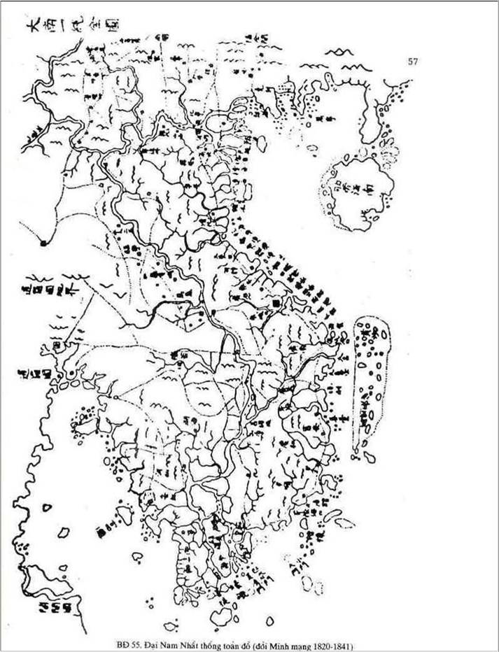 The Complete Map of the Unified Dai Nam