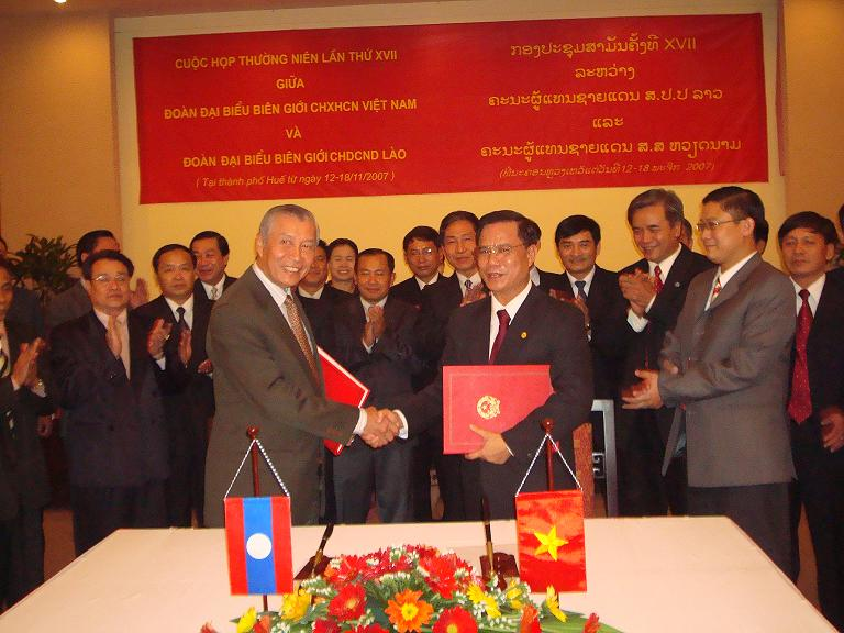 17th Annual Viet Nam - Laos Border Delegations meeting