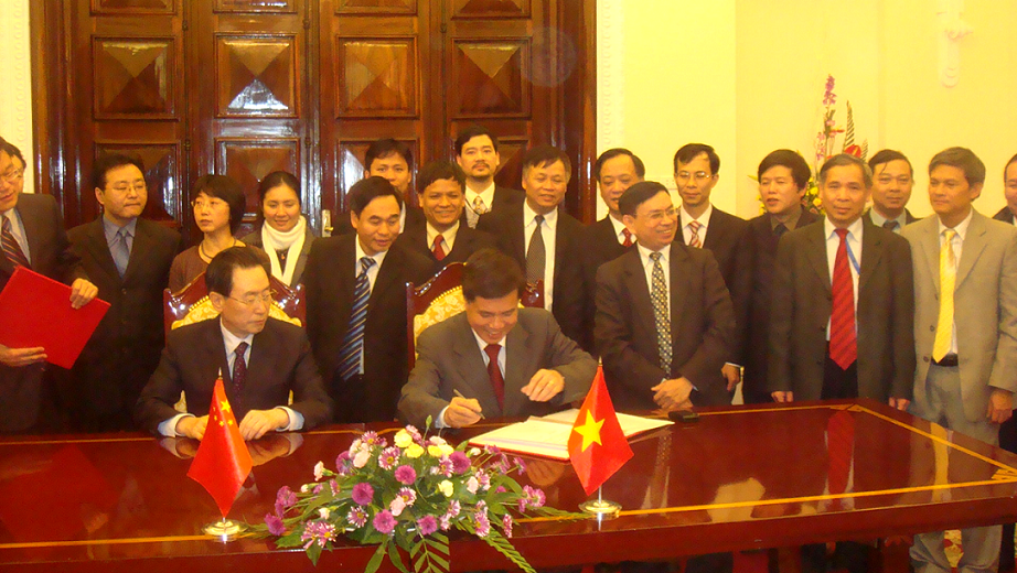 Signing ceremony of minute completing the Viet Nam - China land border demarcation on field