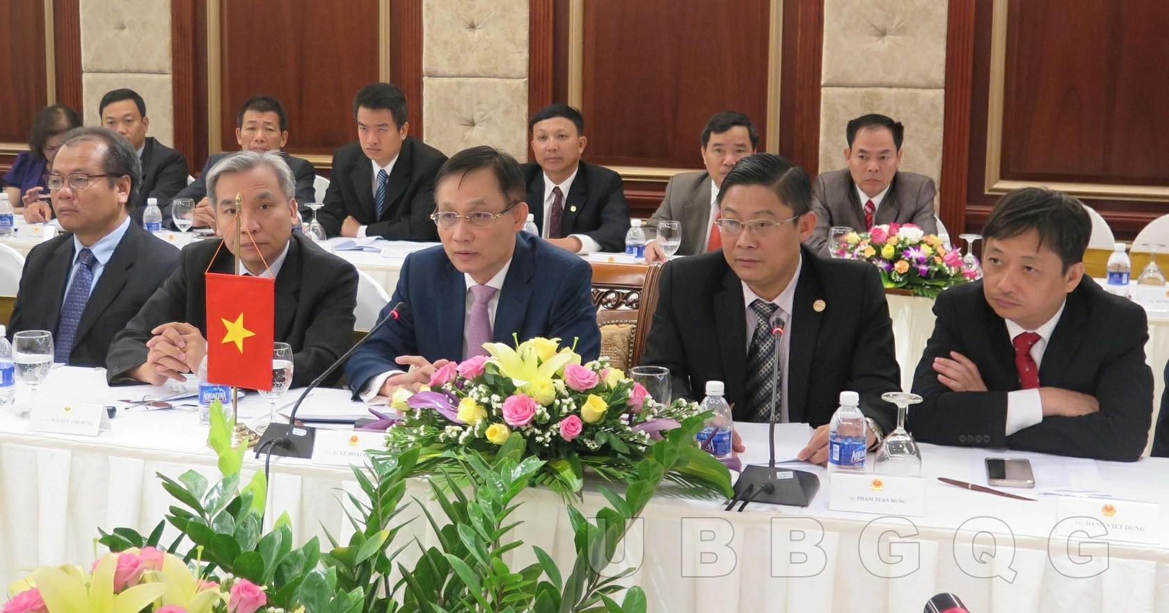 Cuộc họp thường niên lần thứ XXV Đoàn đại biểu biên giới Việt Nam – Lào,  tháng 6/2016 tại Đà Nẵng.